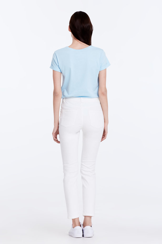 Skinny white jeans photo 6 - MustHave online store