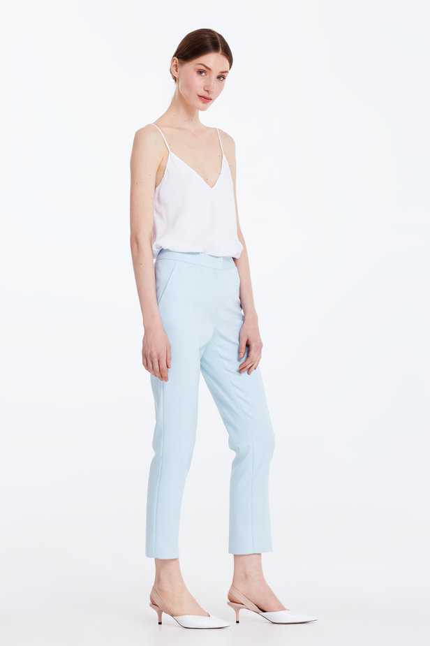 Short blue trousers photo 4 - MustHave online store