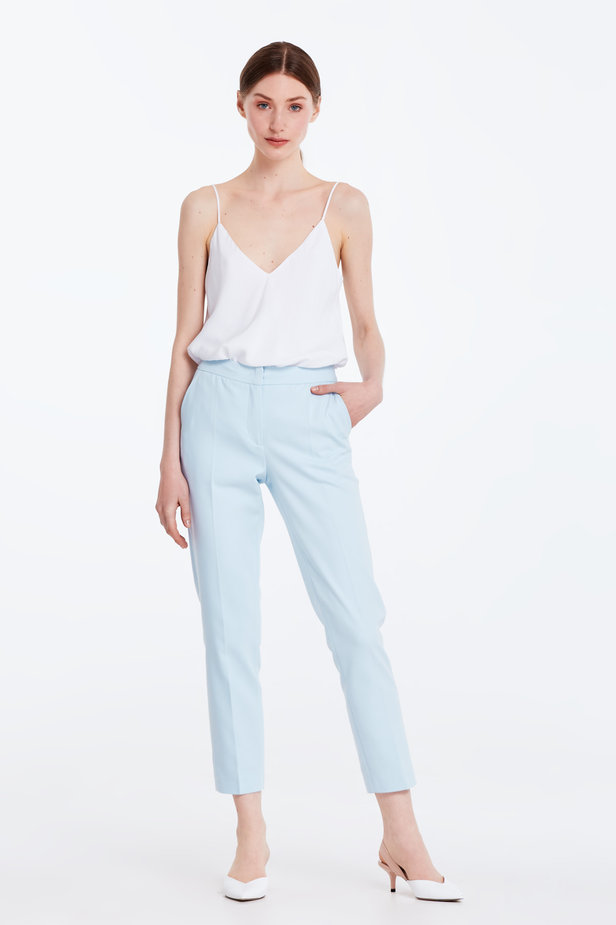 Short blue trousers photo 3 - MustHave online store