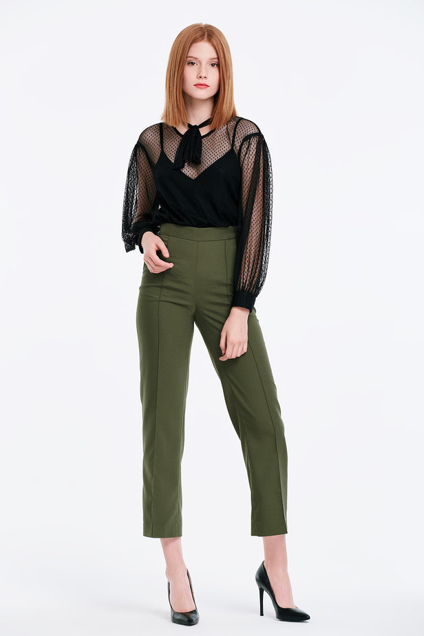 Khaki trousers photo 6 - MustHave online store