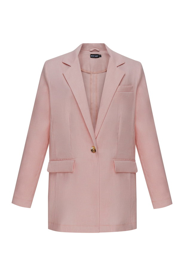 Powder pink jacket photo 2 - MustHave online store