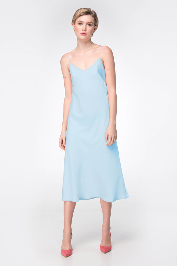 Blue dress-combination photo 1 - MustHave online store