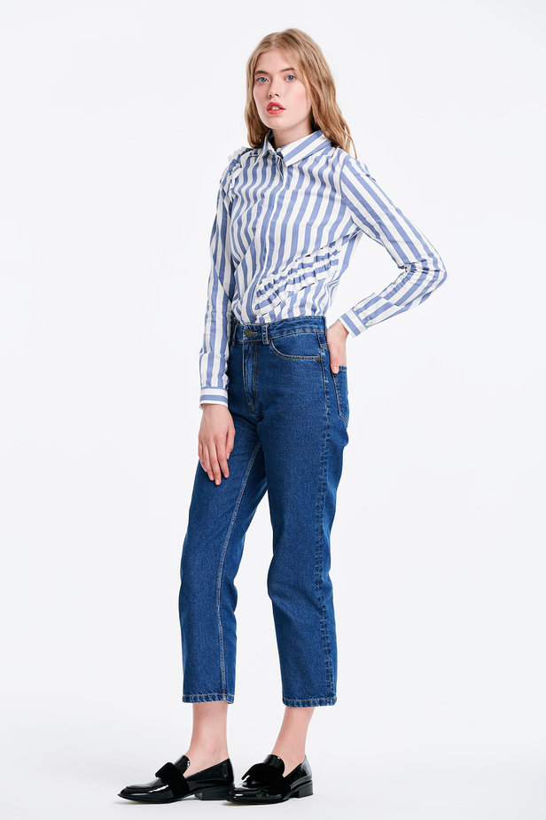Short blue jeans photo 4 - MustHave online store