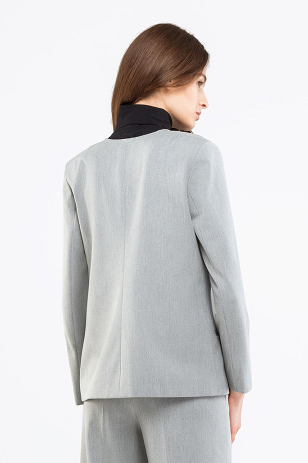 Grey jacket photo 2 - MustHave online store