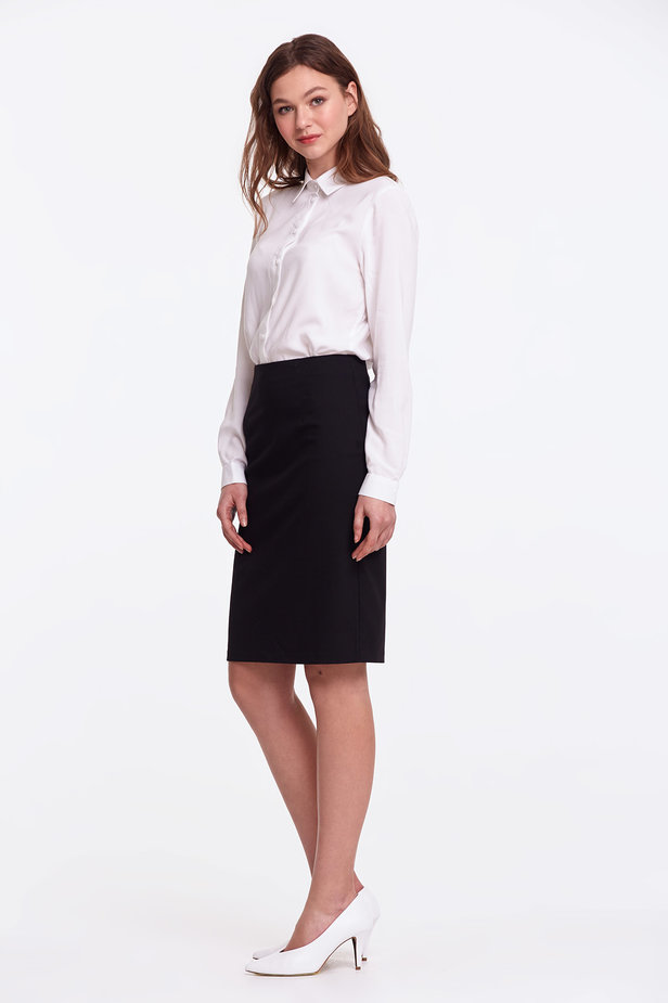 Black pencil skirt photo 3 - MustHave online store