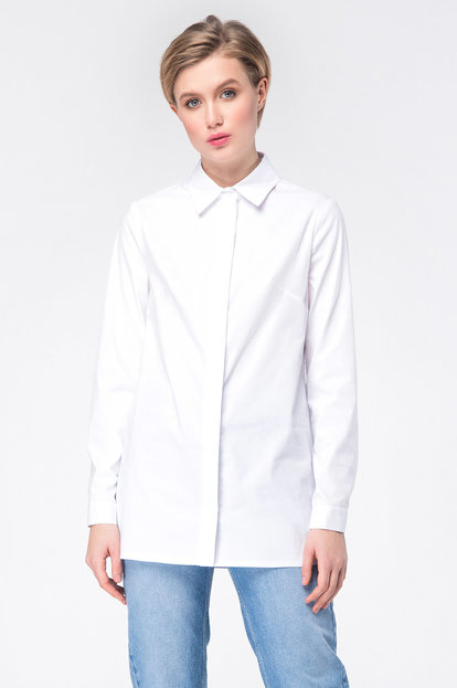White long shirt