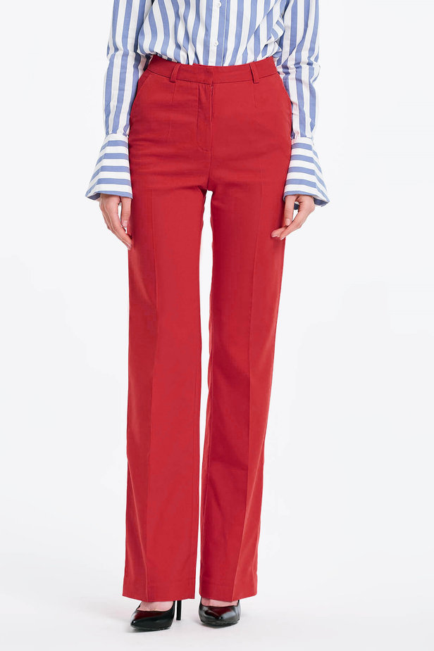 Red trousers photo 1 - MustHave online store