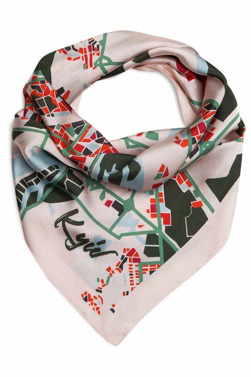 "Powder MustHave Kerchief ""Kyiv Map"""