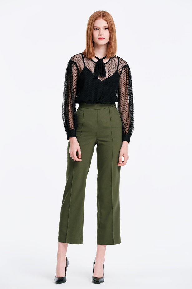 Khaki trousers photo 3 - MustHave online store