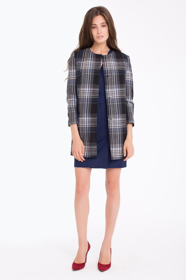 Checked cardigan photo 6 - MustHave online store