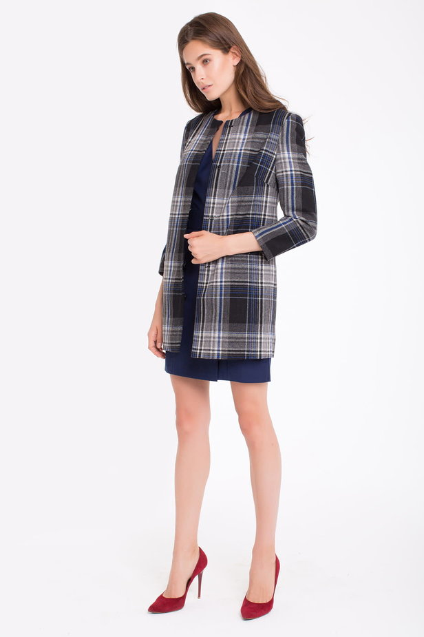 Checked cardigan photo 4 - MustHave online store