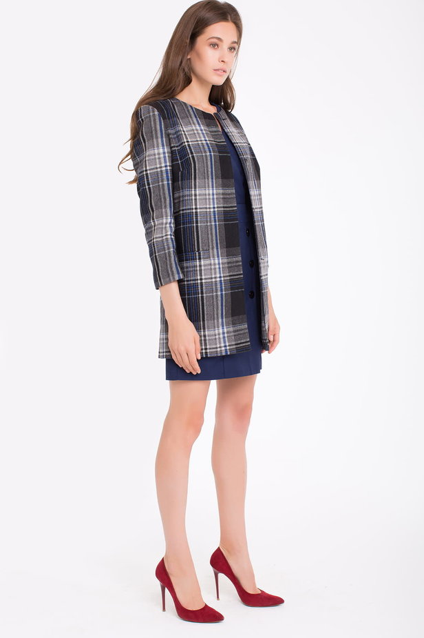 Checked cardigan photo 5 - MustHave online store