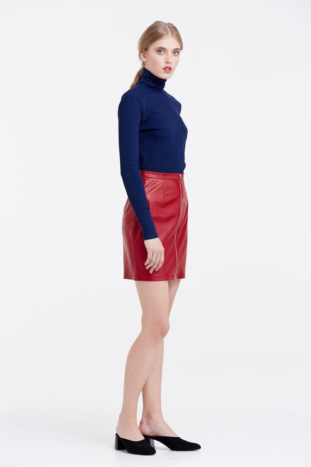 Blue polo neck photo 5 - MustHave online store
