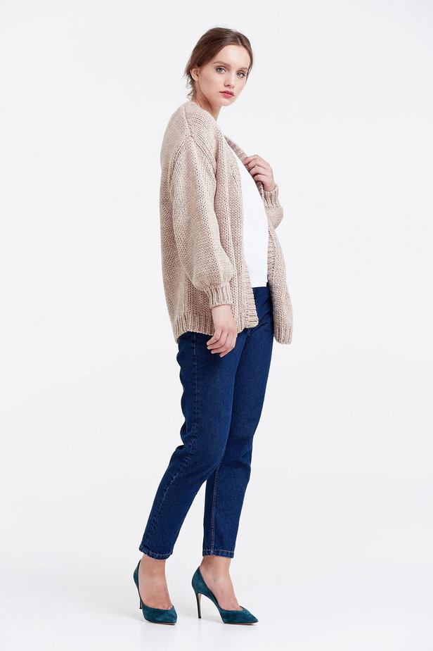 Swing beige cardigan photo 5 - MustHave online store