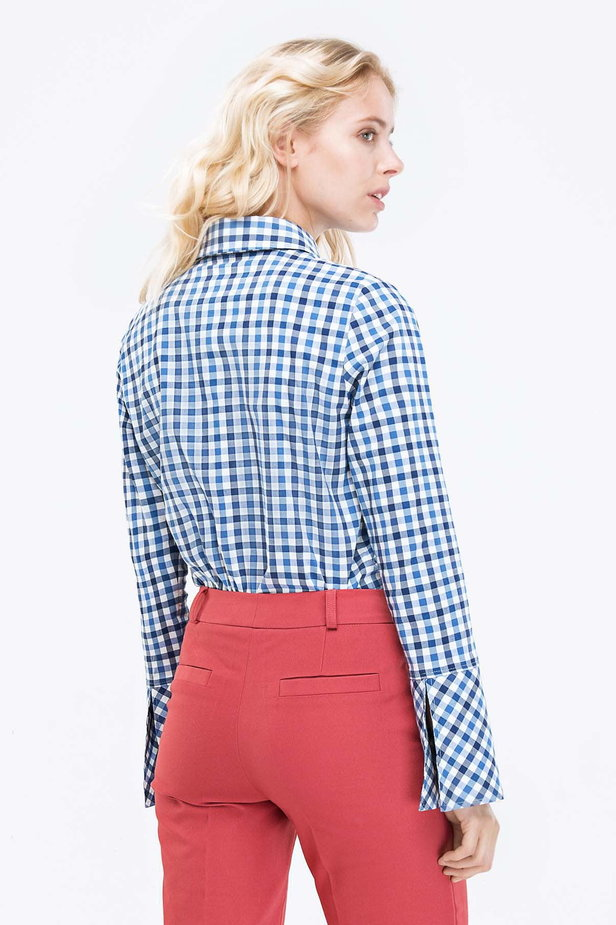 Checked shirt photo 3 - MustHave online store