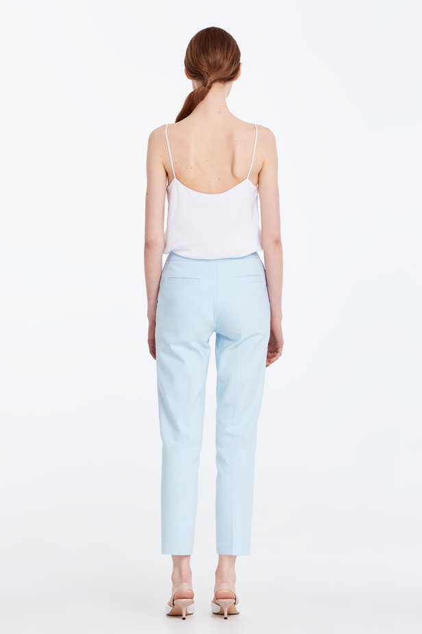 Short blue trousers photo 6 - MustHave online store
