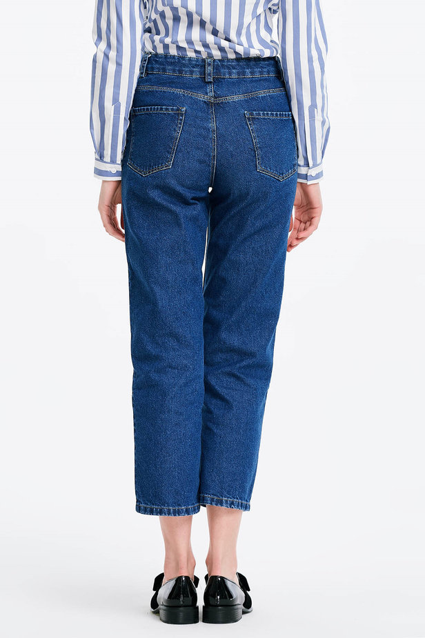 Short blue jeans photo 2 - MustHave online store
