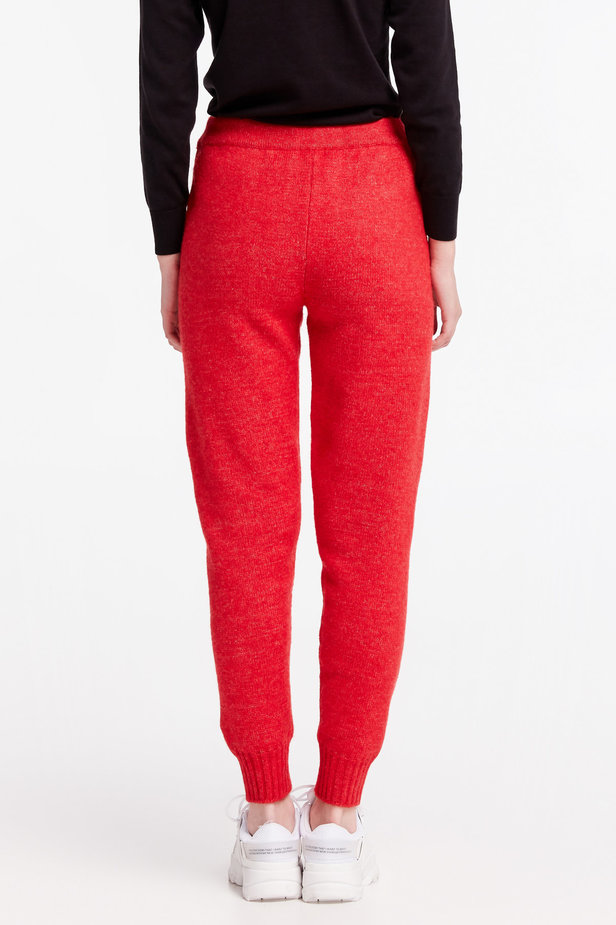 Red knit pants photo 6 - MustHave online store
