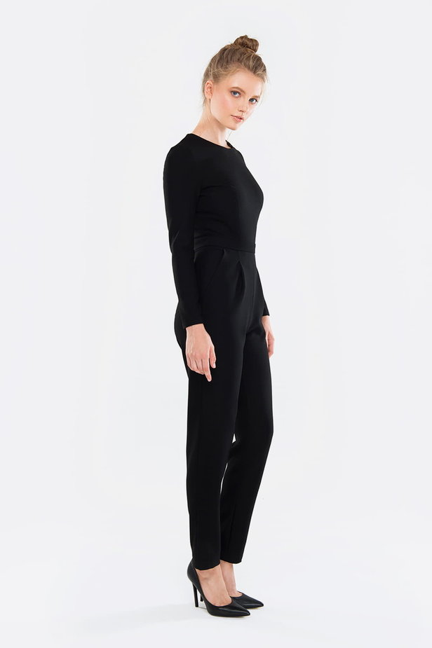 Black jumpsuit photo 3 - MustHave online store