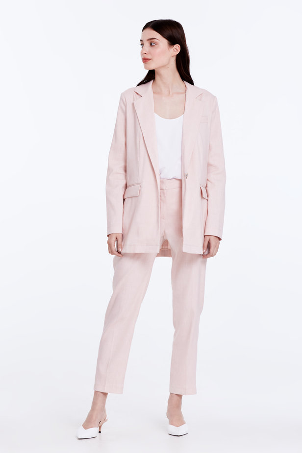 Powder pink jacket photo 3 - MustHave online store
