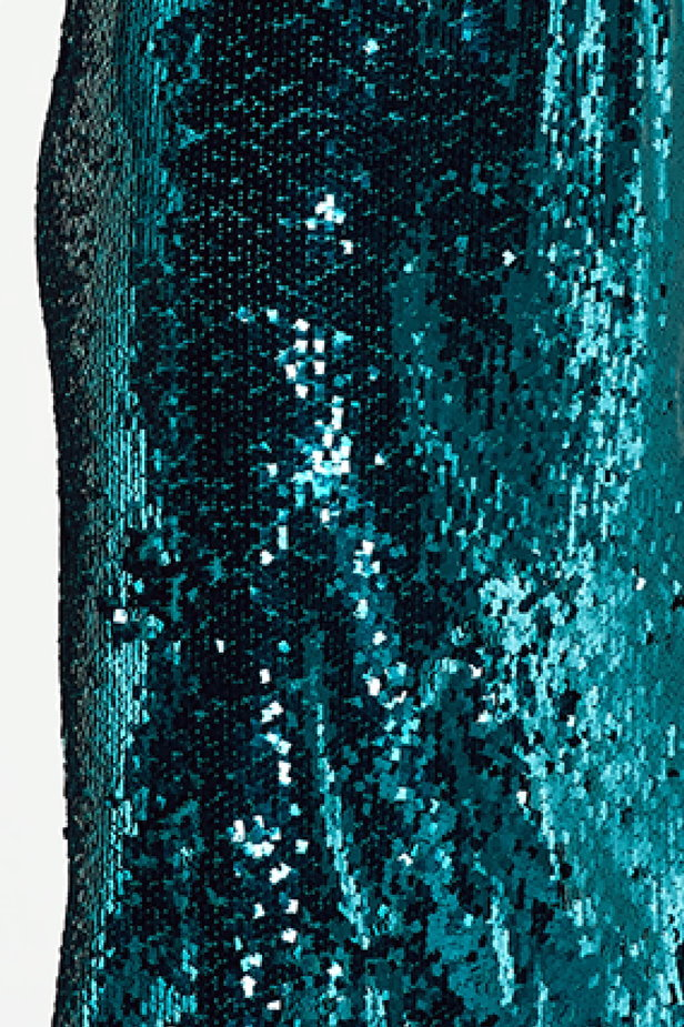 Green sequin skirt photo 6 - MustHave online store