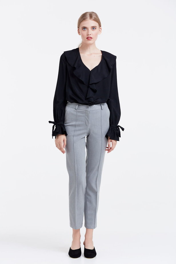 Grey trousers photo 2 - MustHave online store