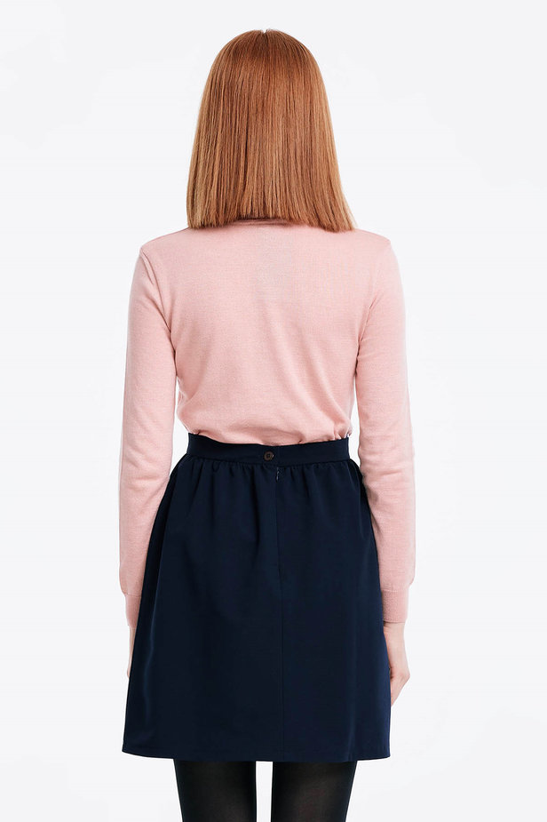 Powder pink polo neck photo 5 - MustHave online store
