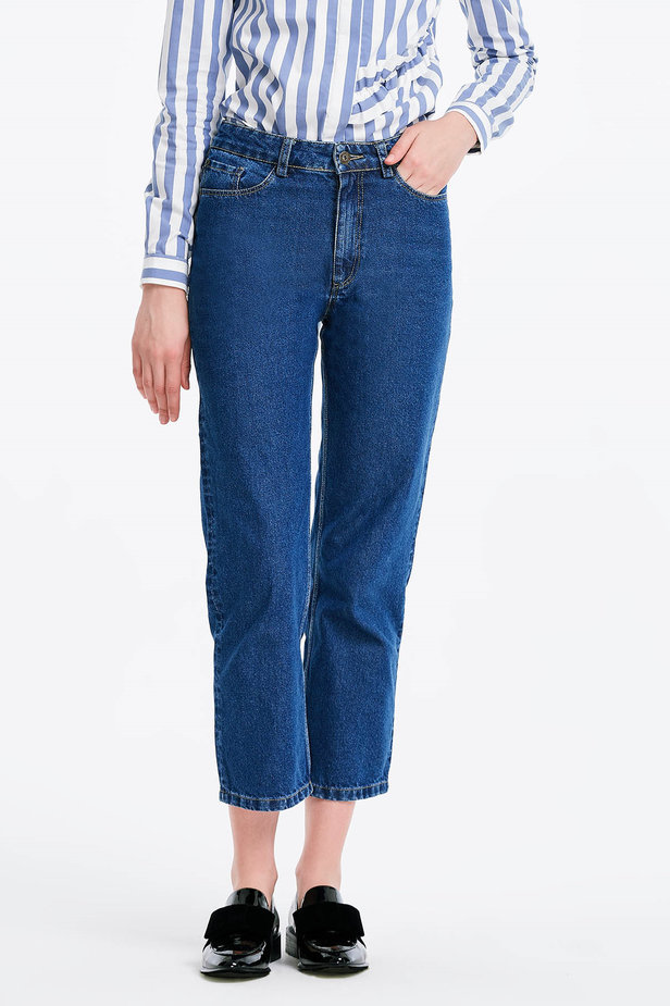 Short blue jeans photo 1 - MustHave online store