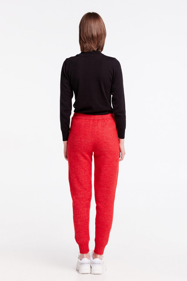 Red knit pants photo 7 - MustHave online store