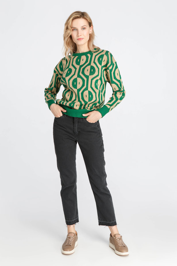 Black Flare Jeans photo 3 - MustHave online store